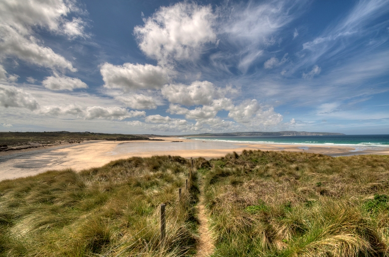 Across the Sand Dunes at Hayle looking towards St Ives.  Photographer_Rosie Spooner_v1..jpg