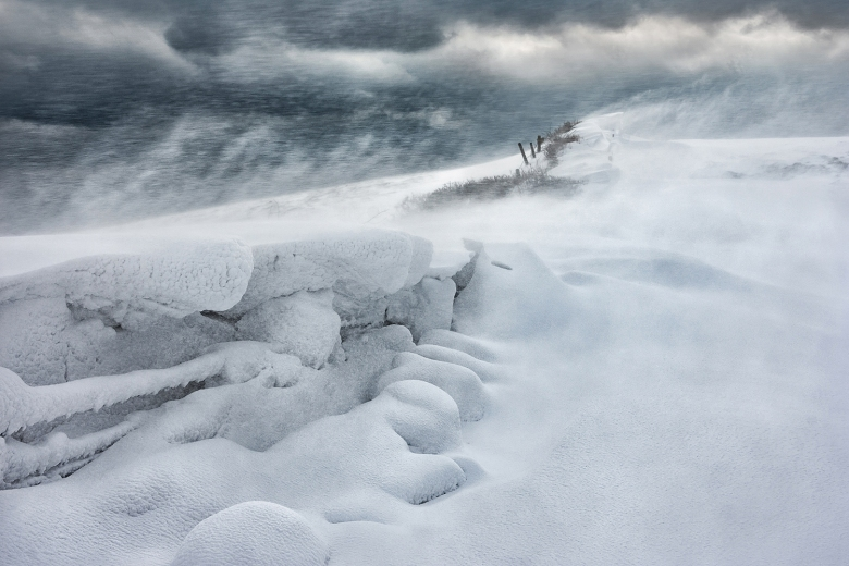 Blizzard on the Coast Path. Between Slapton and Blackpool Sands, Devon. Nick Shepherd.jpeg