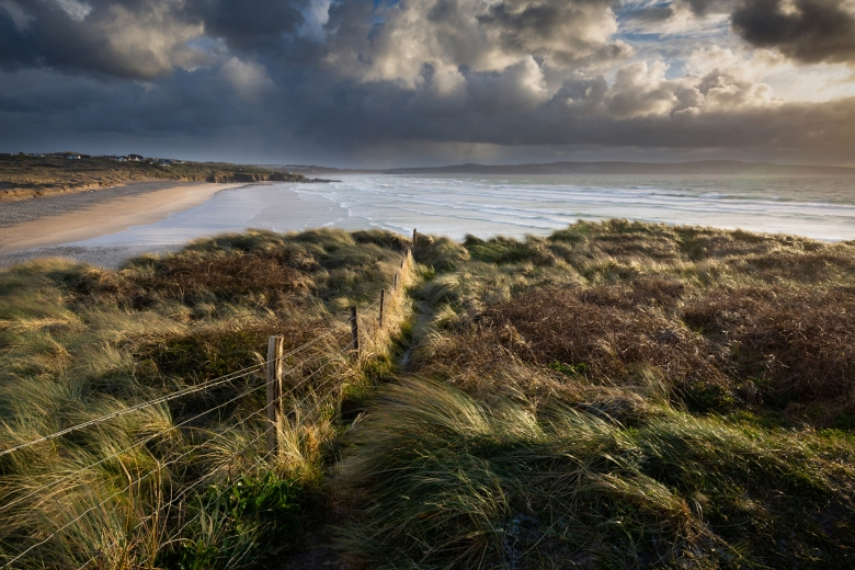 Stormy Gwithian, Cornwall. Ian Lewis_small